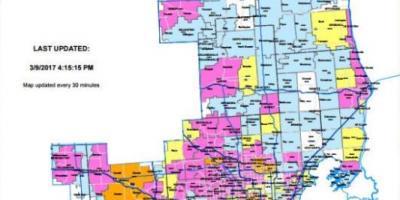 detroit kaart kaarte detroit michigan vsa af maps detroit com